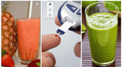 5 φυσικοί χυμοί για να ρυθμίσετε το σάκχαρό σας. Δοκιμάστε τους!