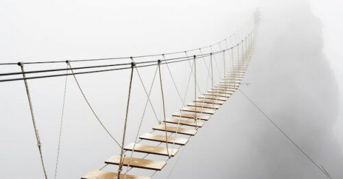 Γέφυρα από σχοινί