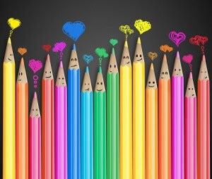 Μολύβια ζωγραφικής πολύχρωμα