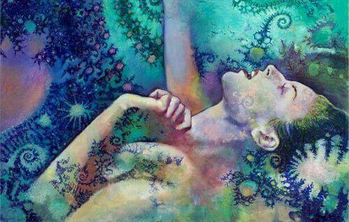 συναισθηματικό σφουγγάρι Γυναίκα με συναισθηματικό μπλοκάρισμα