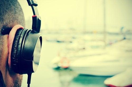 μουσική, άντρας