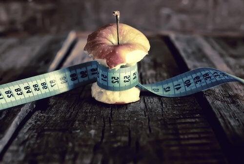 Μήλο με μεζούρα