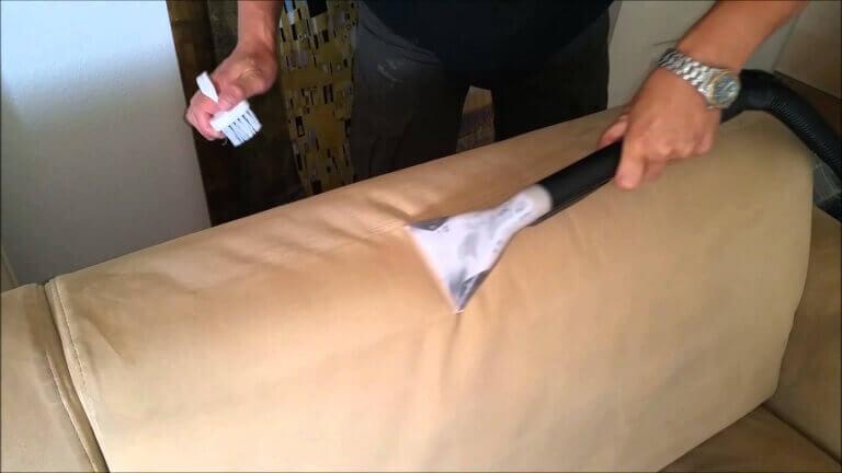 σωστό καθάρισμα καναπέ