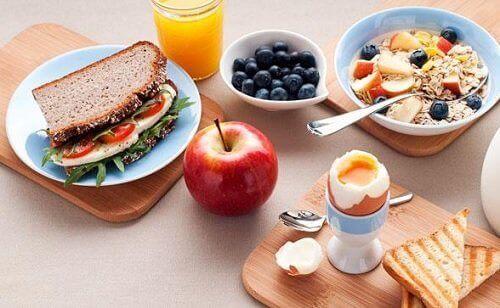 αναλογίες τροφών Υγιεινές τροφές για το πρωινό