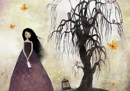 Δένδρο τη νύχτα