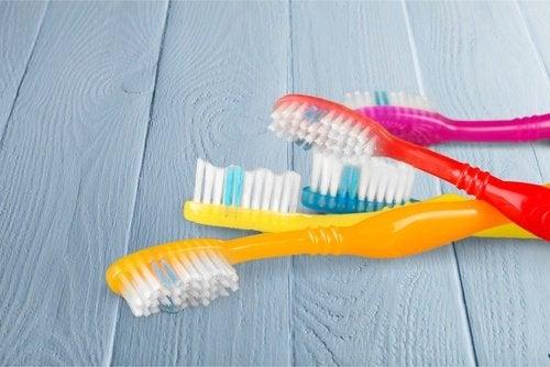 Απαλλάξετε το σπίτι σας από τη σκόνη - Οδοντόβουρτσες σε διάφορα χρώματα