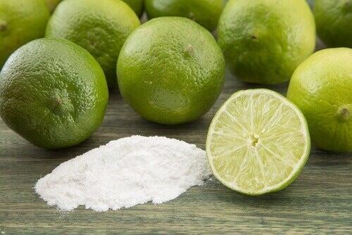 Λεμόνι και σόδα- φυσικά αποσμητικά