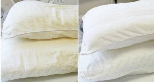 καθαρίσετε το στρώμα και τα μαξιλάρια