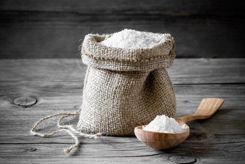 Σακουλάκι με αλάτι