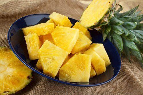Ανανάς- Οφέλη της καθημερινής κατανάλωσης ανανά