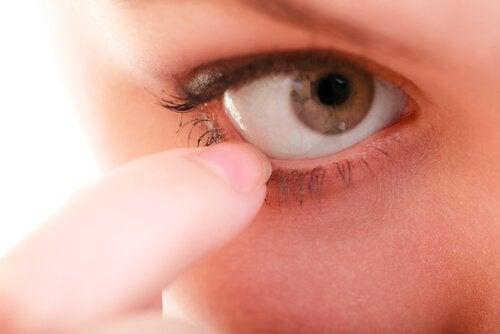 Κερατοειδής σε μάτι