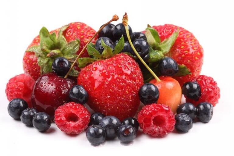απλές τροφές μούρα