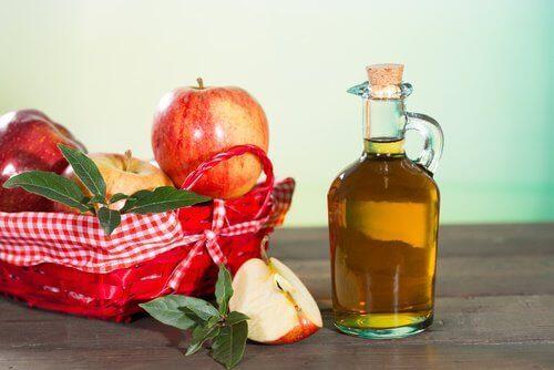 Διώξετε τους ψύλλους - Μήλα σε καλάθι και μηλόξυδο σε μπουκάλι