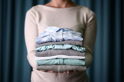 Ρούχα- χρήσεις του κορν φλάουρ
