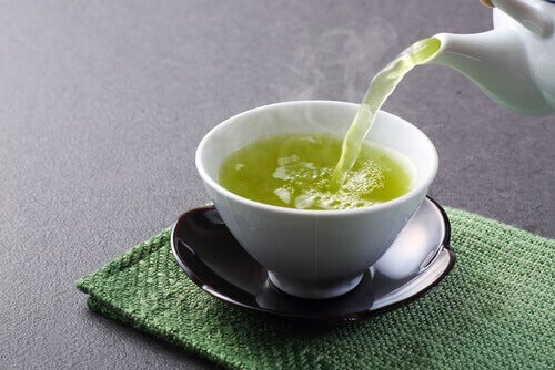 πράσινο τσάι για τη μείωση του σακχάρου