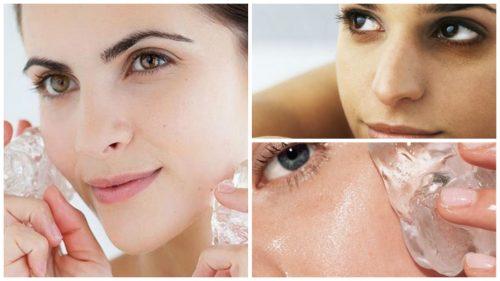 7 οφέλη από την εφαρμογή του πάγου στο δέρμα σας