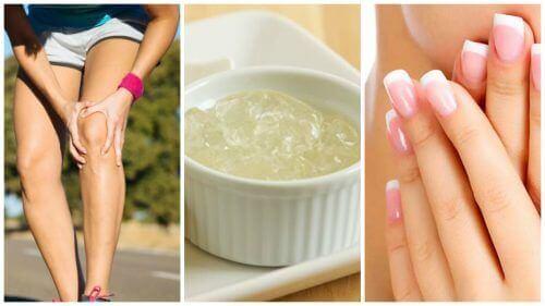 11 οφέλη της καθαρής ζελατίνης που θα θέλετε να γνωρίζετε