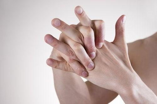 θεραπεία με δάχτυλα για την μείωση του άγχους