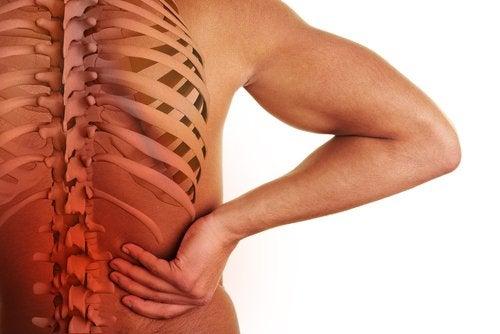 Πόνος στο κάτω μέρος της πλάτης: σπονδυλική στήλη