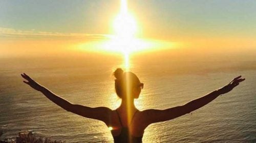 ηλιοβασίλεμα, κοπέλα, θάλασσα