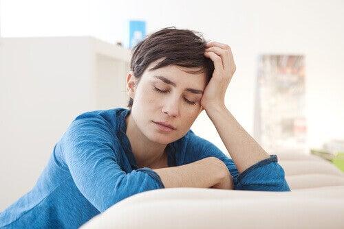 Γυναίκα κουρασμένη