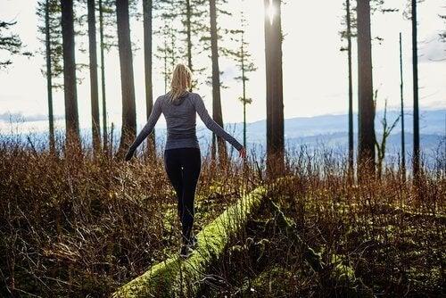 δάσος, για την μείωση του άγχους