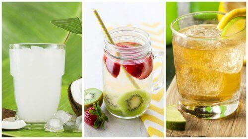 5 ροφήματα με βάση το νερό για αποτοξίνωση του σώματος