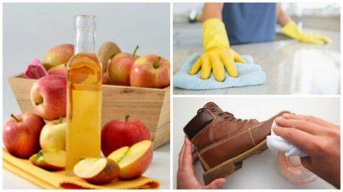 Οι 7 καλύτερες εφαρμογές του μηλόξυδου για το σπίτι σας