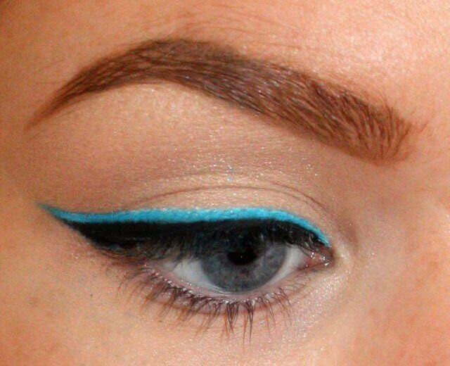 Μακιγιάζ των ματιών - Μάτι με eyeliner