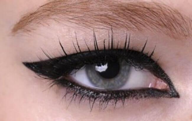 Μακιγιάζ των ματιών - Μάτι με πλήρες περίγραμμα