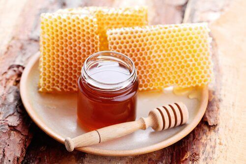 βάζο με μέλι