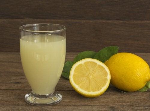 λεμόνι, χυμός