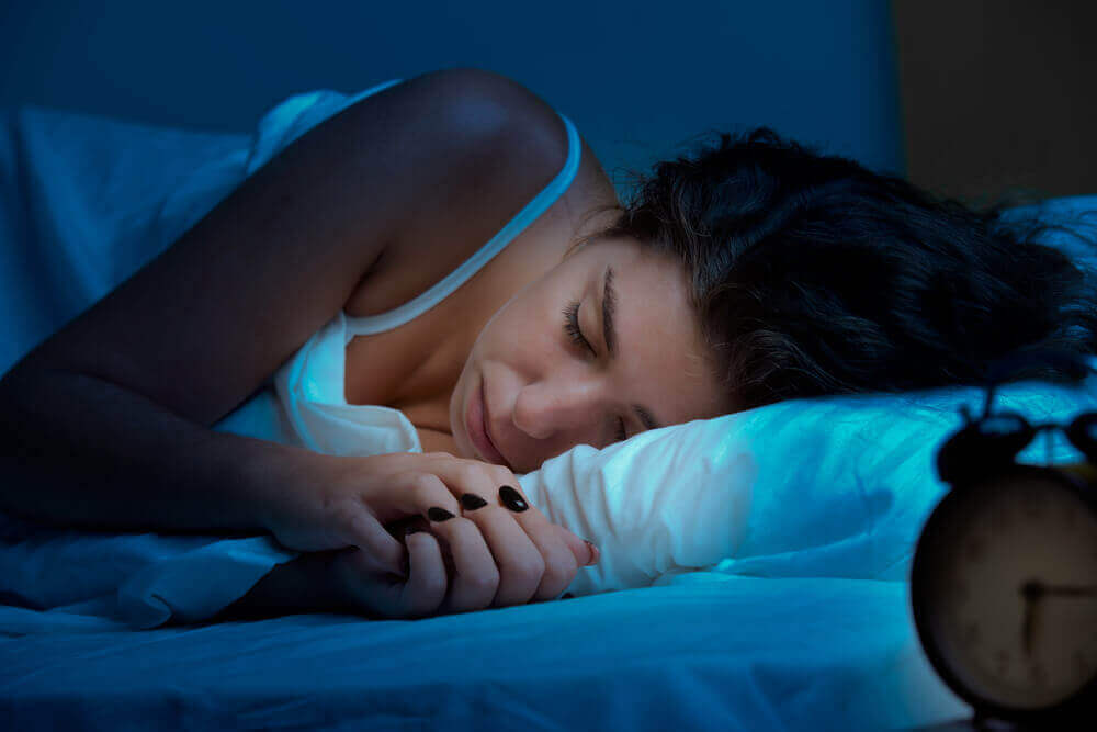 γυναίκα που κοιμάται