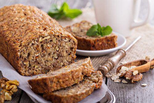 Ψωμί χωρίς γλουτένη και χωρίς λακτόζη, από βρώμη