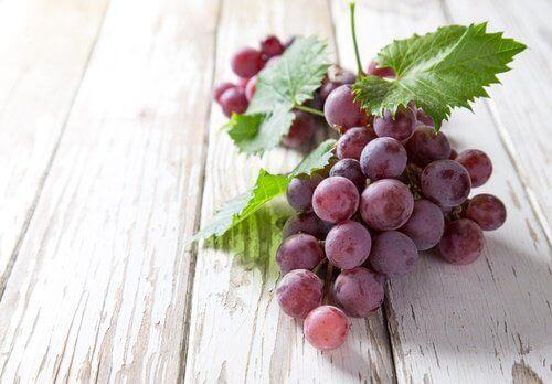 Το σταφύλι είναι ένα από τα φρούτα κατά της γήρανσης