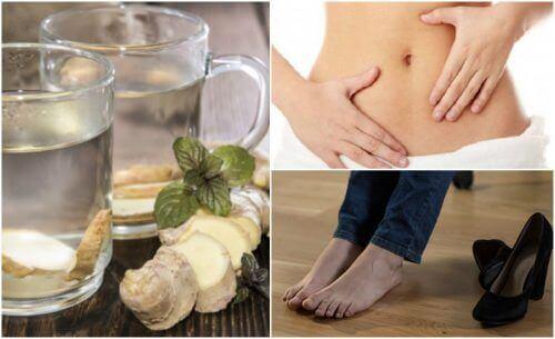 7 λόγοι για να πίνετε νερό με τζίντζερ με άδειο στομάχι