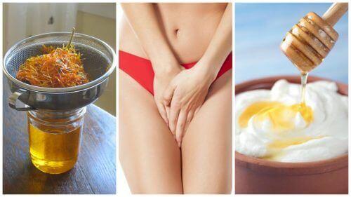 6 θεραπείες για να απαλλαγείτε από τις κολπικές εκκρίσεις!