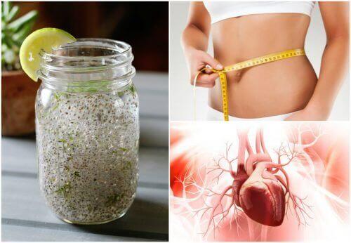 Η αντίδραση του σώματος στο χυμό με σπόρους chia και λεμόνι