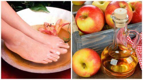 6 οφέλη του να μουλιάζετε τα πόδια σας στο ξύδι.