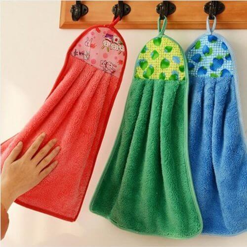 9 αντικείμενα στο σπίτι που πρέπει να καθαρίζετε καθημερινά, πετσέτες κουζίνας