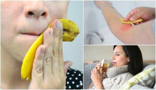 Φλούδα της μπανάνας: 8 τρόποι να τη χρησιμοποιήσετε
