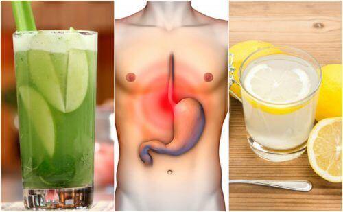 Οι 5 καλύτερες σπιτικές θεραπείες για τα οξέα του στομάχου