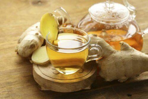 τζίντζερ σε τσάι, συμβουλές για να κάψετε περισσότερες θερμίδες χωρίς άσκηση