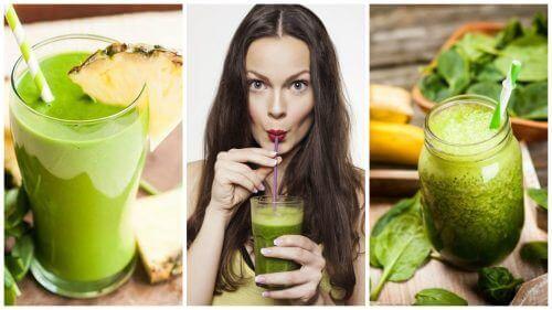 5 πράσινα smoothies για αποτοξίνωση και απώλεια βάρους