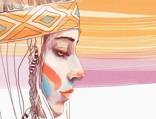 Επιτυχημένη γυναίκα ιθαγενής