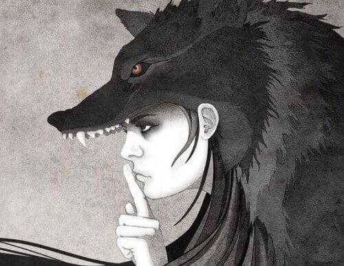 Γυναίκα λύκαινα- είστε ειλικρινείς