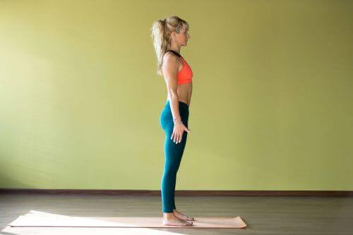 χτίσετε μυς: σωστή στάση σώματος