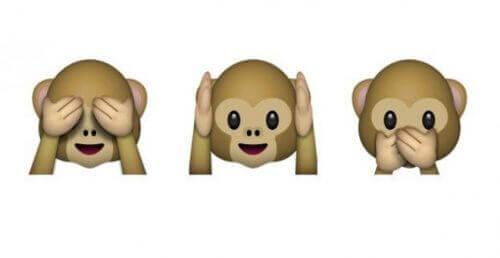 Τρεις σοφές μαϊμούδες - Τρεις μαϊμούδες