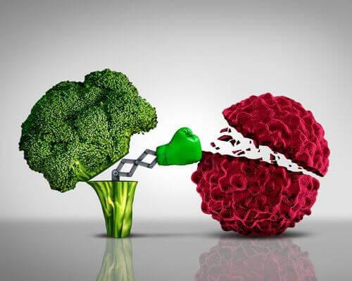 Οφέλη του μπρόκολου, αντικαρκινική τροφή