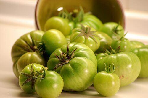 Πράσινες τομάτες για την καταπολέμηση των κιρσών